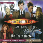 "Doctor Who ""at the BBC The Tenth Doctor"" (CD COVER ONLY) signed by Eric Loren 2432"